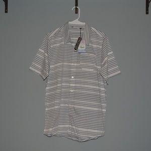 NWT TRAVIS MATTHEW Mens L button down shirt